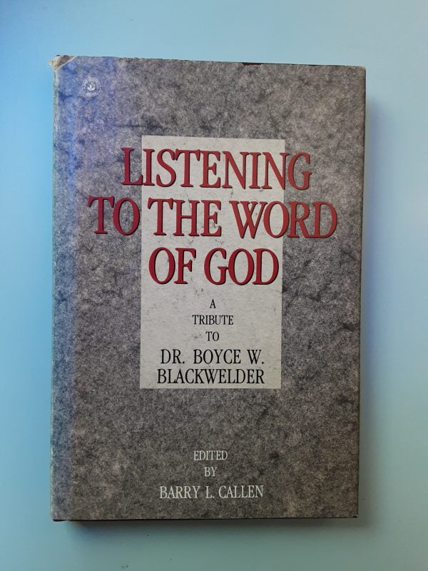 LISTENING TO THE WORD OF GOD