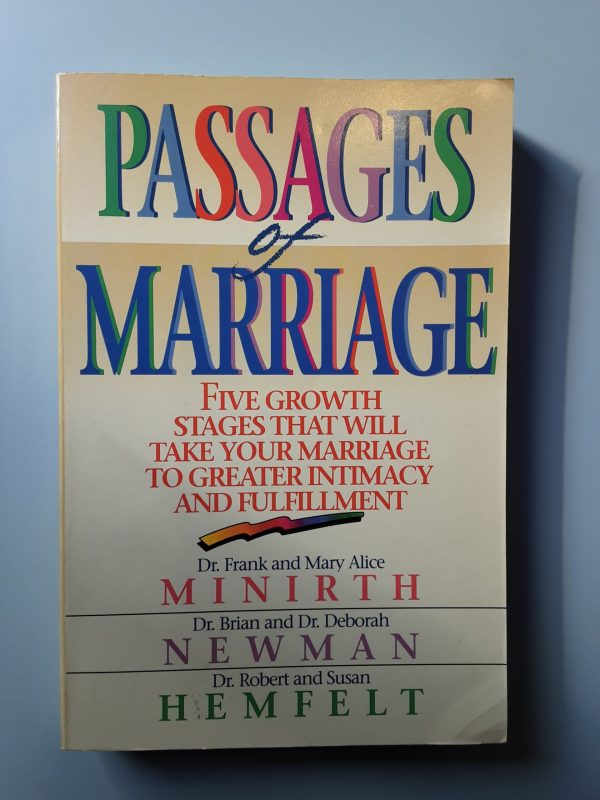 PASSAGES OF MARRIAGE